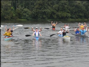 Competitor in the PVC K2 Twilight race 10 Dec 2014